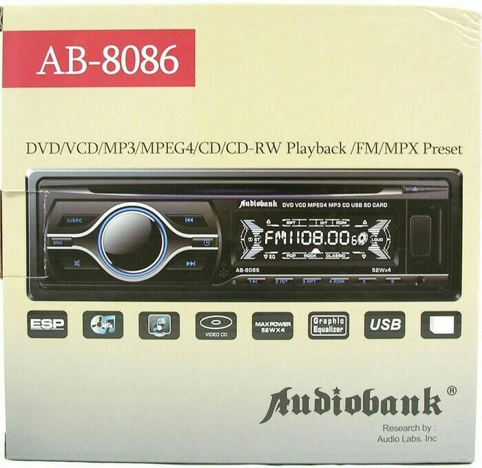 harga Dvd mobil audiobank/single din mobil Tokopedia.com