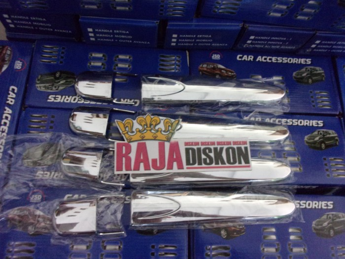 Foto Produk Cover Handle Pintu All New Avanza Xenia Chrome Luxury dari RAJA DISKON