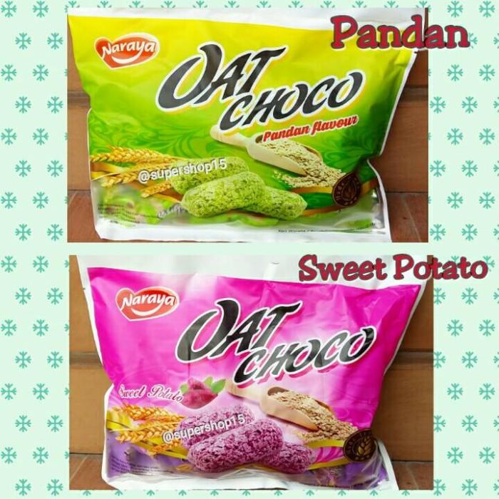 Naraya oat choco sweet potato & pandan