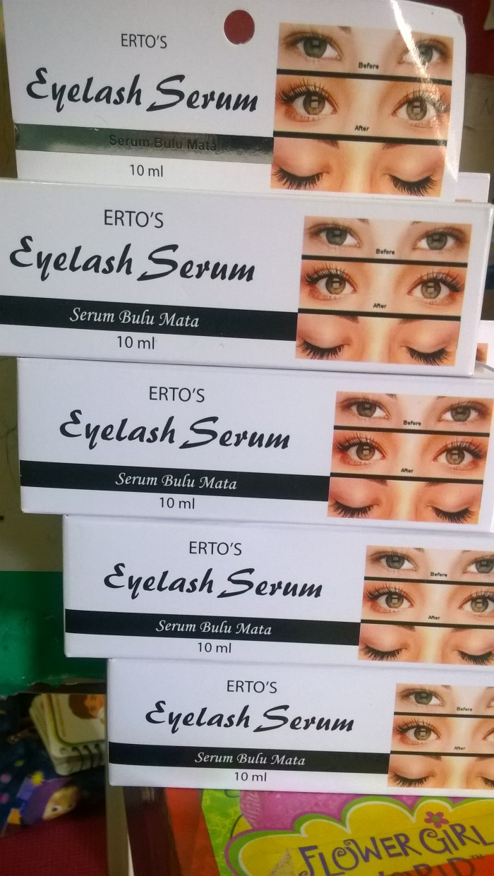 Ertos Eyelash Serum Pelentik Bulu Mata Daftar Km 110