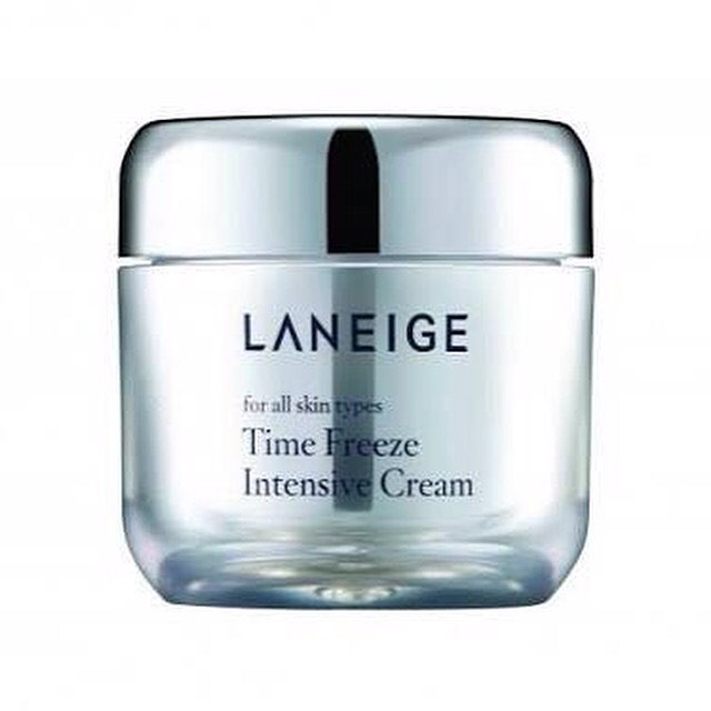 Laneige new product time freeze intensive cream