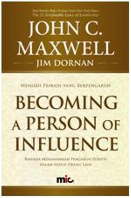 harga Buku becoming a person of influence. john c. maxwell Tokopedia.com