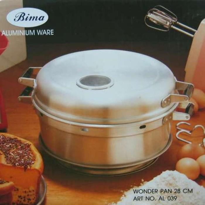 harga Panci pemanggang cake/bolu - baking pan bima 28 cm - 8 telur Tokopedia.com