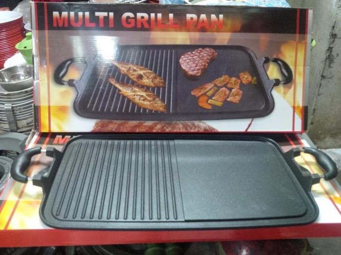 harga Asli merk multi grill pan alat untuk membakar ayam sate daging bulgogi Tokopedia.com