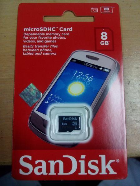 Foto Produk MICRO SD CARD SANDISK 8 GB dari Ayri17 Shoplovers