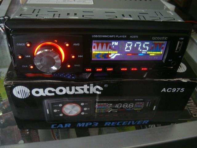 harga Tape mobil mp3/usb/radio player   acoustic ac-975  suara mantab Tokopedia.com