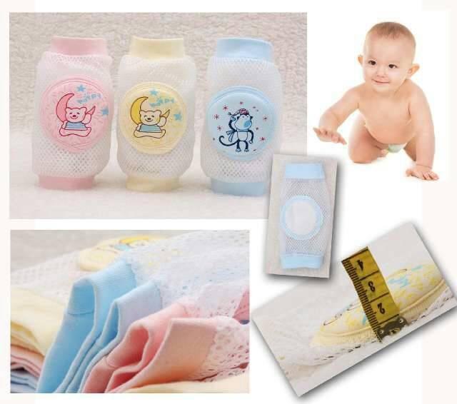 harga Breathable crawling baby knee protector / pelindung lutut untuk bayi Tokopedia.com