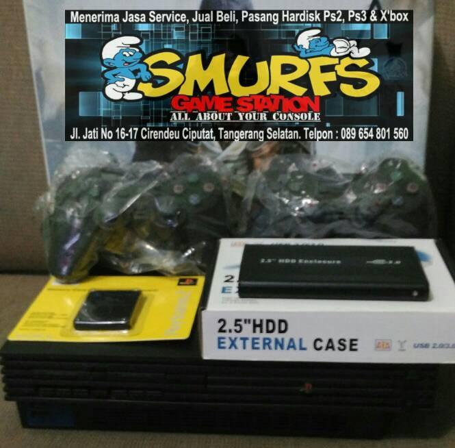 harga Playstation 2 / ps2 slim hardisk eksternal 500gb Tokopedia.com
