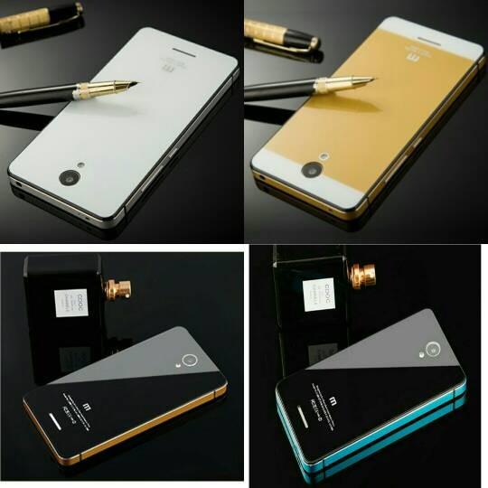 ... harga Xiaomi redmi note 2 / note 2 prime aluminium tempered glass hard case Tokopedia.
