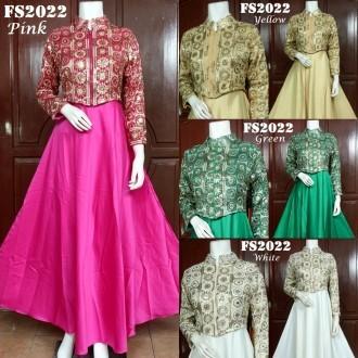 Jual Baju Pesta Cardi Cantik Bahan Sari India Fs2022 My Butik Baju