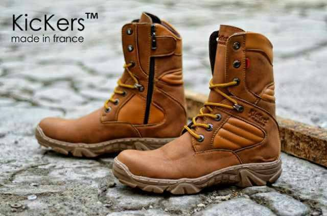 harga Sepatu boots tactical tracking kickers delta high safety tan Tokopedia.com