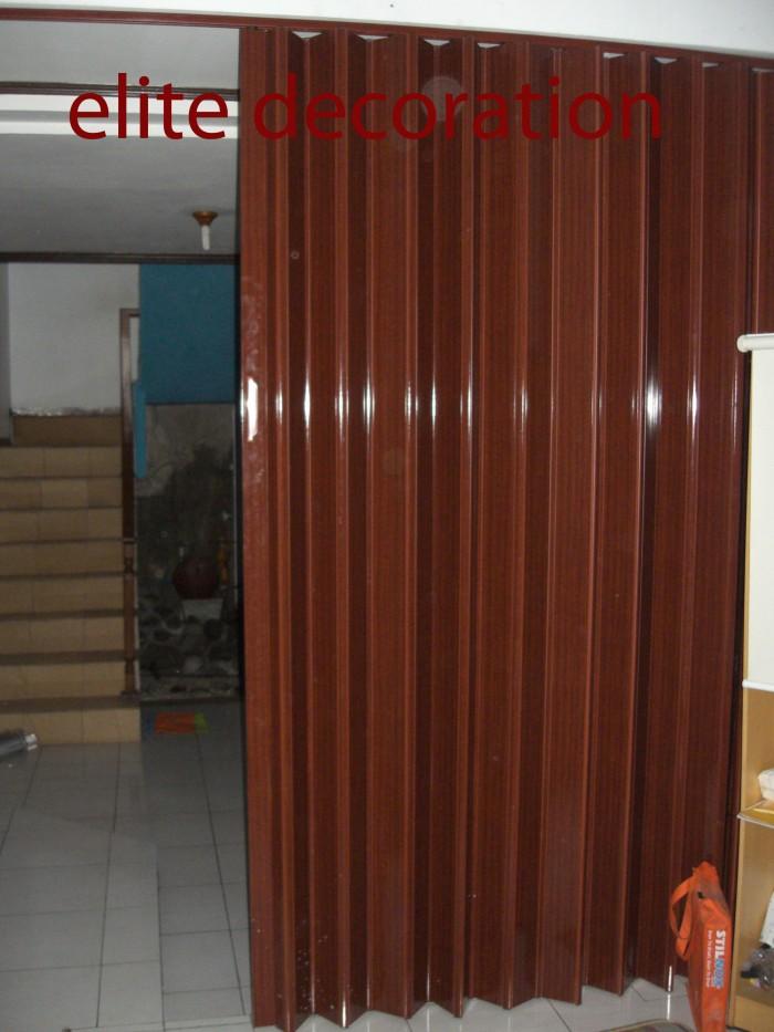 Jual jual pvc folding door bandung - Tirai Bandung | Tokopedia