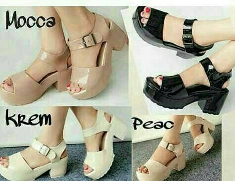 harga Sexy jelly shoes dodwel / sepatu cantik / sepatu murah Tokopedia.com