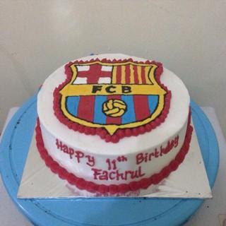 Jual Kue Ulangtahun Barcelona Barca Jakarta Selatan Dgara Semua Ada Tokopedia