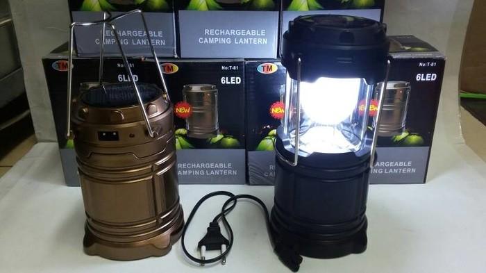 harga Lentera camping solar / powerbank solar lampu emergency Tokopedia.com