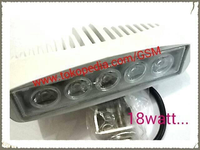 harga Lampu sorot led bar 18watt tembak offroad motor mobil Tokopedia.com