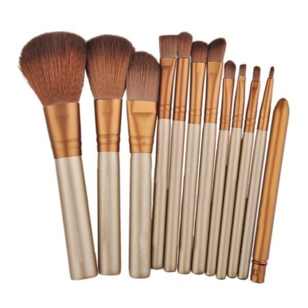 harga Kuas make up/make up brush 12 set with tin case Tokopedia.com