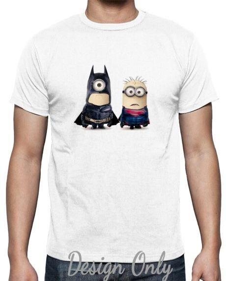harga Kaos pria batman v superman versi minion by clothserto Tokopedia.com