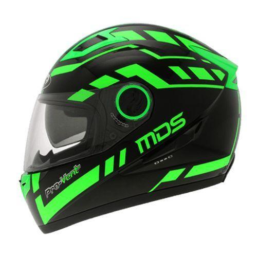 harga Helm mds provent black green full face visor fullface fluo Tokopedia.com