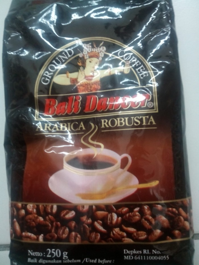 Jual Arabica Robusta Coffee Bali Dancer Berat Isi Tanpa Bungkus