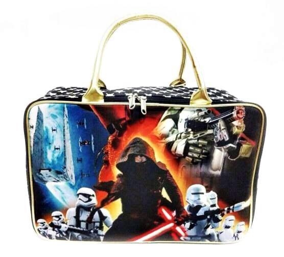 Tas Travel Bag Kanvas Koper Anak Ukuran Besar Karakter Star Wars