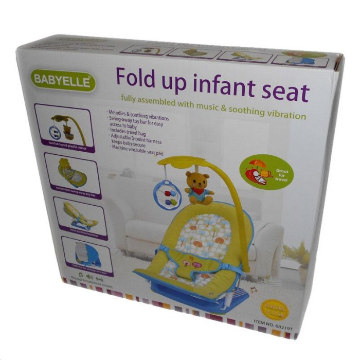 Source · Sugar Baby 1st Class Bouncer / Fold Up Infant Seat with Melodies And Soothing