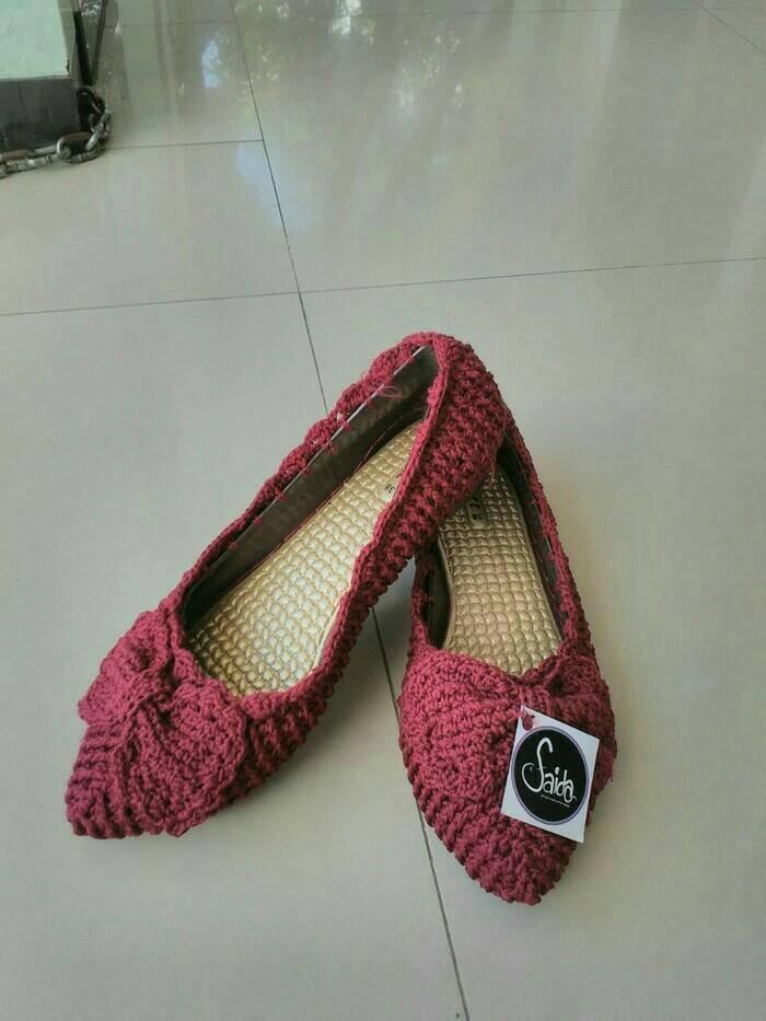 Jual Sepatu Rajut Couple Ibu dan Anak - Rajut Faida  04c2a7bb0b