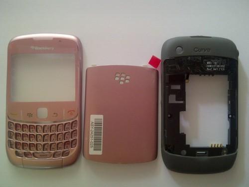 harga Casing blackberry gemini 8520 fullset pink Tokopedia.com