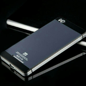 Xiaomi Mi4i Back Cover Aluminium Tempered Glass MI 4i .