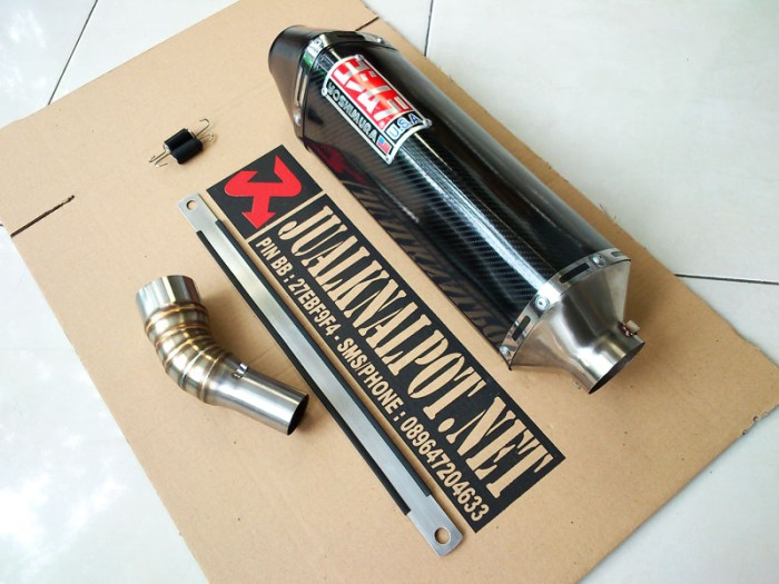 harga Knalpot r25 mt25 ninja 250rr mono yoshimura usa carbon slipon Tokopedia.com