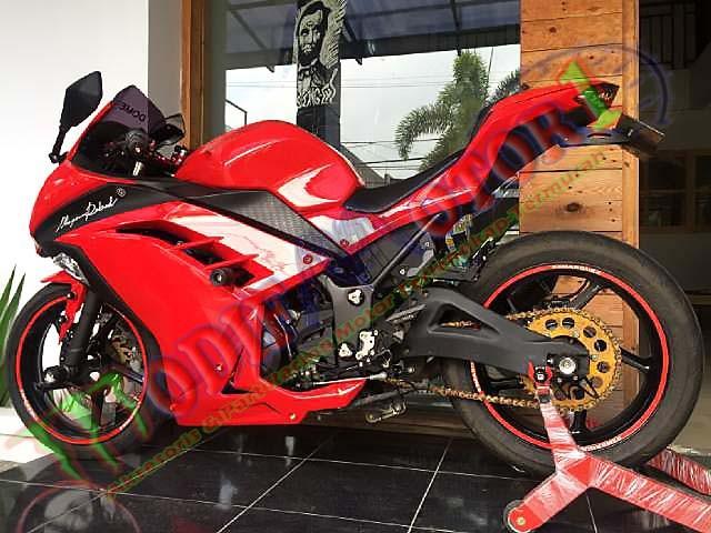 harga Swing arm delkevic new style ninja 250r | ninja 250 fi  z250 fi | Tokopedia.com