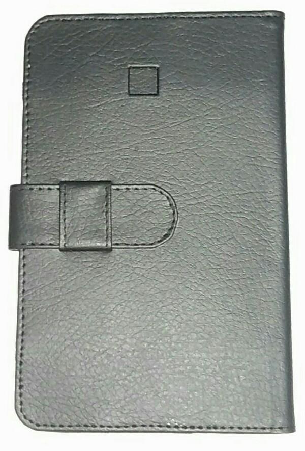 harga Jual leather case asus fonepad 7 inch with standing function  n camera port  warna hitam Tokopedia.com