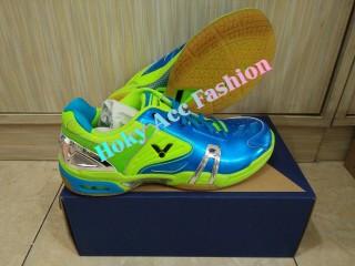 harga Sepatu badminton victor sh-p9100 fg blue Tokopedia.com