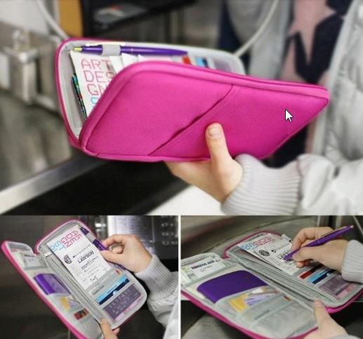 harga Card id holder passport pouch wallet organizer dompet paspor Tokopedia.com