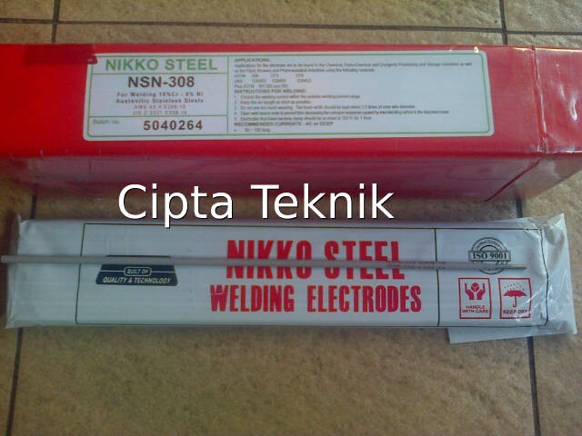 harga Kawat Las Nikko Steel Nsn 2,6mm Tokopedia.com