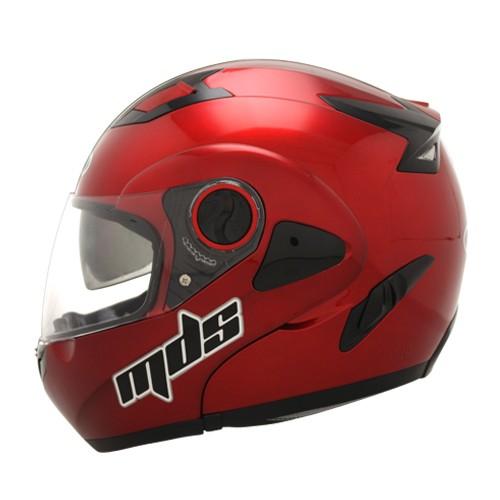 harga Helm mds pro rider flip up modular red fullface full visor Tokopedia.com