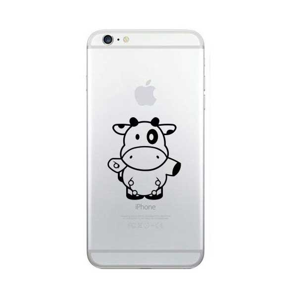 harga Tokomonster decal sticker apple iphone - cow 04 - 4 buah Tokopedia.com