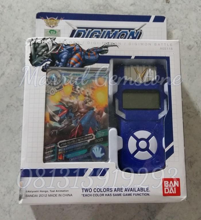 harga New bandai digimon xros wars blue fusion loader english digivice data Tokopedia.com