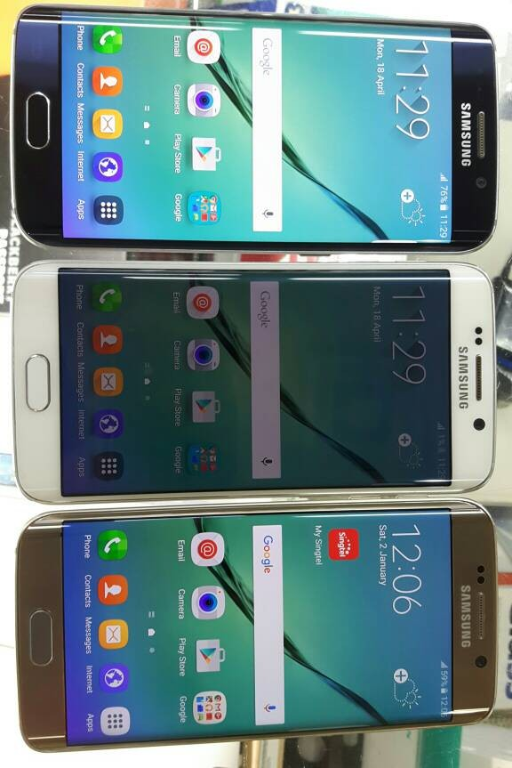 Jual Samsung Galaxy S6 Edge 64gb Bekas Original Kondisi 99