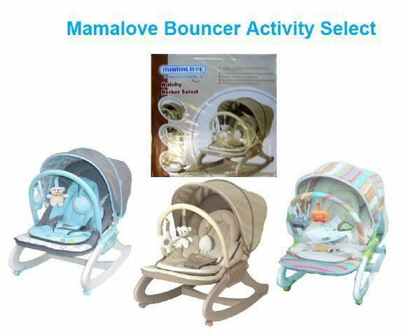 Bouncer Bouncher Mamalove Mama Love Kursi Goyang Bayi - MeLody Getar