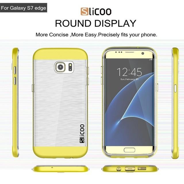 Casing Samsung Galaxy S7 Edge Slicoo Slim case - Softcase Transparan