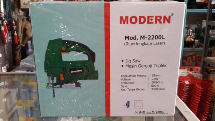 harga Mesin gergaji triplek jigsaw ( + laser) modern Tokopedia.com