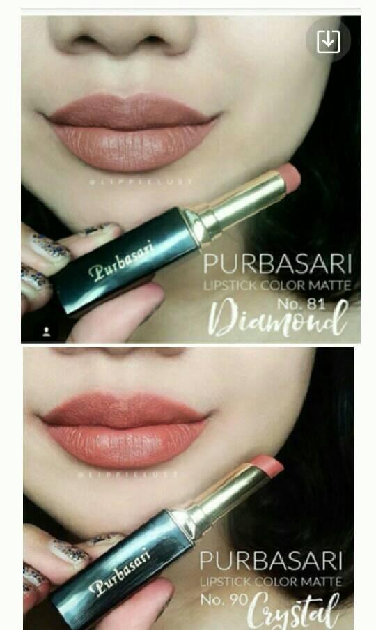 Purbasari Lipstick Color Matte No.90