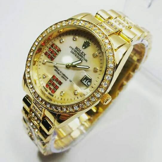 Jam Tangan Wanita Fashion Leather Strap Lilit Gelang - Merah. Source · Jam  Tangan Rolex 5313f999e8
