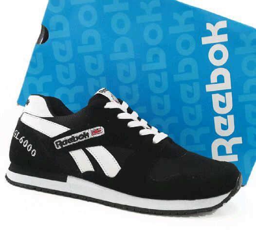 harga Sepatu pria reebok gl 6000 hitam putih original premium Tokopedia.com