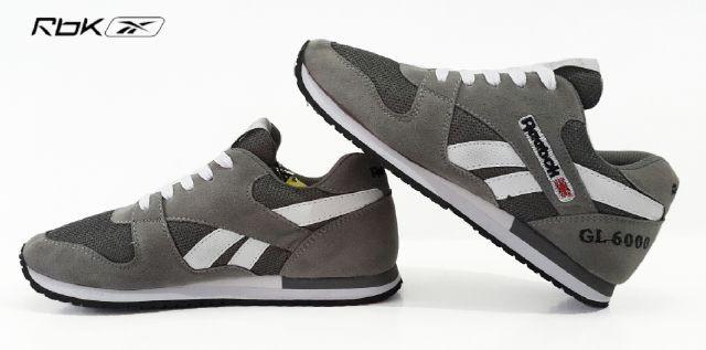 Sepatu pria reebok gl 6000 abu original premium harga ... 777bab9a38