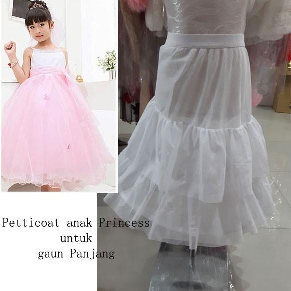 harga Petticoat anak perempuan untuk rok panjang jumlah 1 lilit kawat Tokopedia.com
