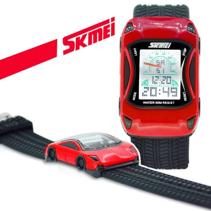 Skmei 0961b original kids digital led watch - jam tangan anak