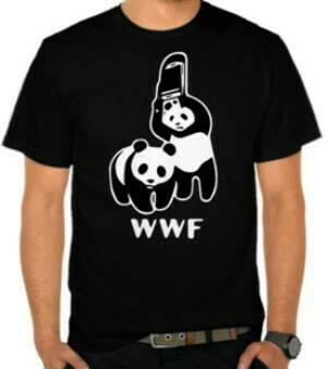 harga Kaos t-shirt pria wwf panda 2 Tokopedia.com