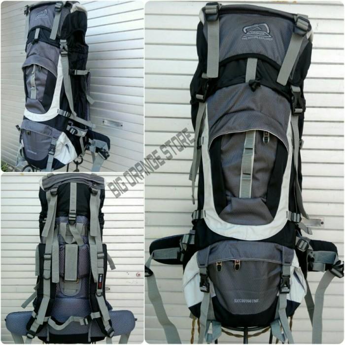... harga Tas gunung murah sioux handal ransel camping carrier shioux 60l  Tokopedia.com 2aa9a38f9a